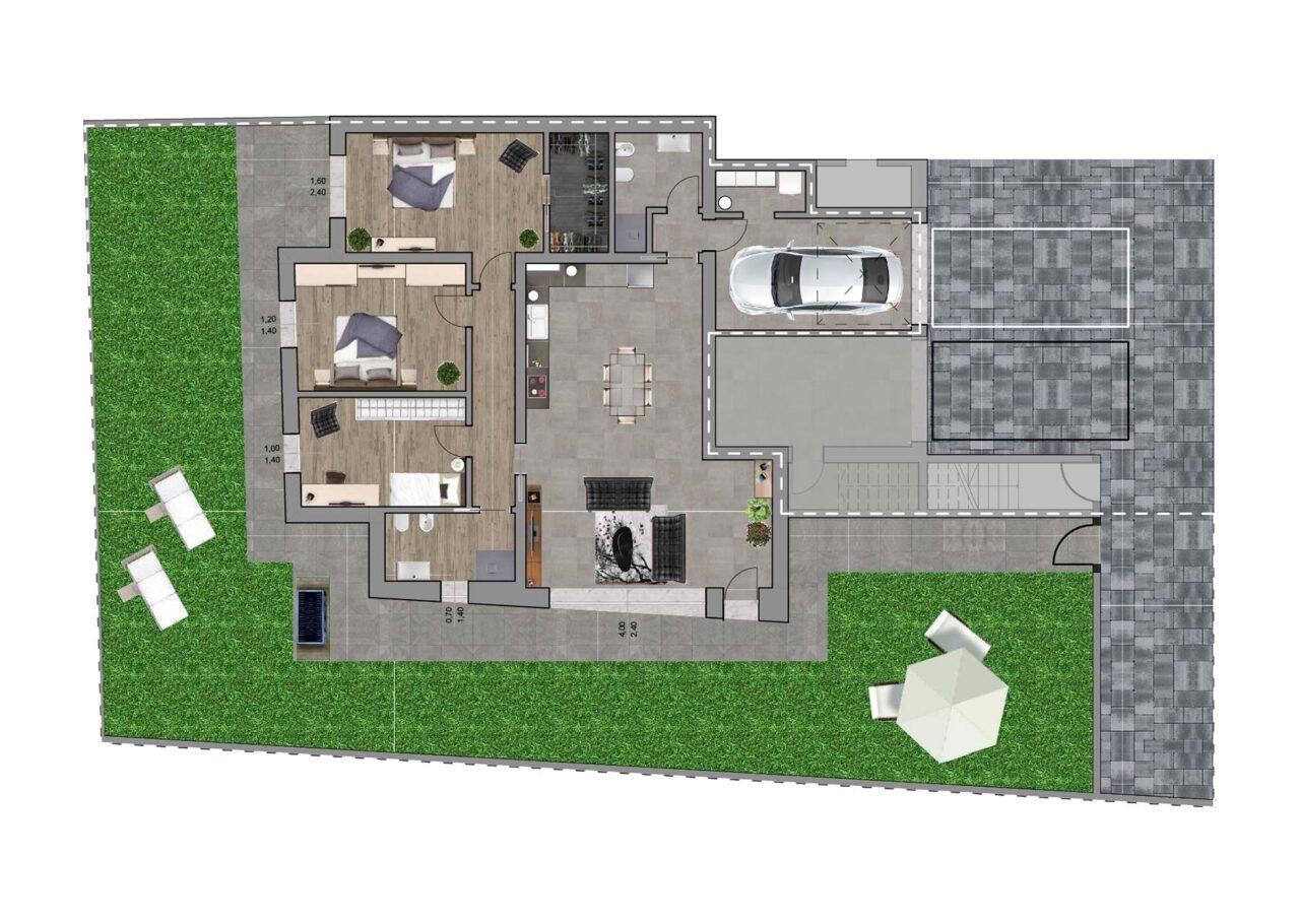 Condominio Noale Venezia planimetria unità 2, Fam Real Estate